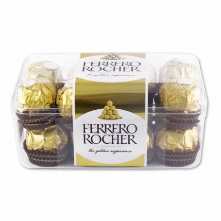 Ferrero Rocher Bombones - (16 Unidades) - 200g