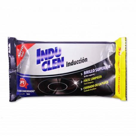 Indu Clen Toallitas para Vitrocerámicas de Inducción - (30 Toallitas)