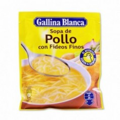 Gallina Blanca Sopa de Pollo con Fideos Finos - 71g