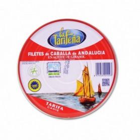 La Tarifena Filetes de Caballa de Andalucía en Aceite de Girasol - 525g