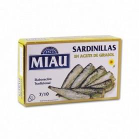 Miau Sardinillas en Aceite de Girasol - 85g