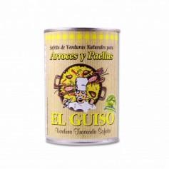 El Guiso Sofrito de Verduras Naturales para Arroces y Paellas - 420g