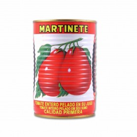 Martinete Tomate Entero Pelado en su Jugo - 400g