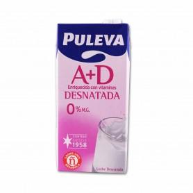 Puleva Leche Desnatada A + D - 1L