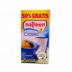 Natreen Edulcorante de Mesa Classic - (400 Comprimidos) - 38,4g+ 200 Comprimidos Gratis