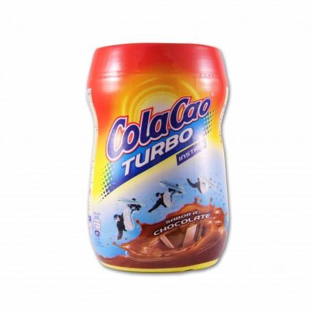 ColaCao Cacao Soluble Turbo Instantáneo Sabor a Chocolate - 375g
