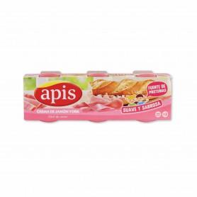 Apis Paté de Crema de York - (3 Unidades) - 240g