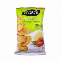 Grefusa Snatt´s NatuChips Sabor a Tomate, Queso y Orégano - 65g