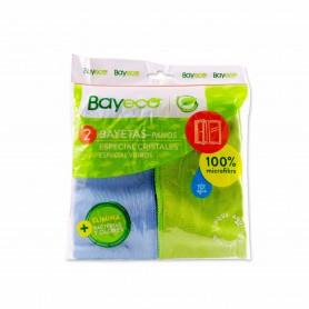 Bayeco Bayetas Especial Microfibra Cristales - (2 Unidades)