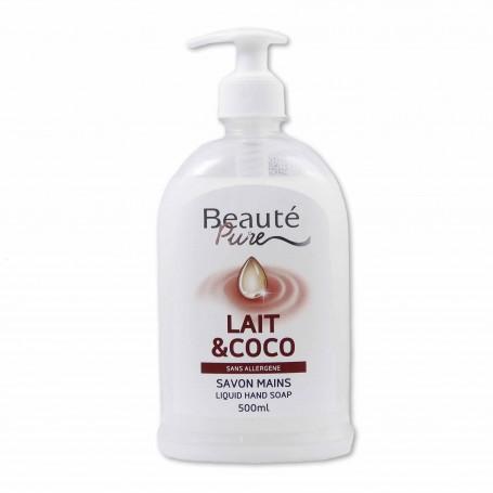 Beauté Pure Jabón de Manos Leche&Coco - 500ml