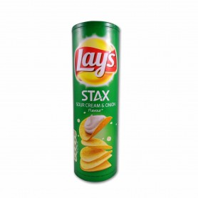 Lay´s Patatas Stax Sour Cream & Onion - 170g