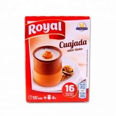 Royal Cuajada Sabor Lácteo - (4 Sobres) - 48g