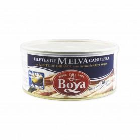 Boya Filetes de Melva Canutera en Aceite de Girasol con Aceite de Oliva Virgen - 900g