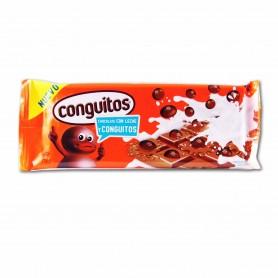 Conguitos Cacahuete Tostado Recubiertos deChocolate con Leche- 110g