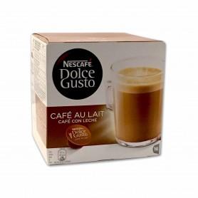Nescafé Dolce Gusto Café con Leche - (16 Cápsulas) - 160g