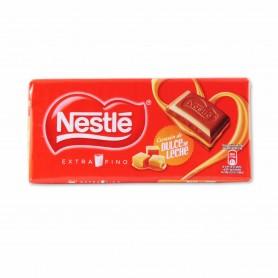 Nestlé Chocolate con Leche Extrafino Relleno de Dulce de Leche - 120g