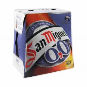 San Miguel Cerveza 0,0 - (6 Unidades) - 150cl