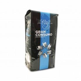 Coty Café en Grano Descafeinado Natural - 1kg