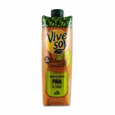 Vivesoy Bebida de Zumo de Piña & Soja - 1L