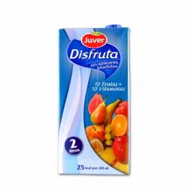 Juver Zumo Disfruta de10 Frutas + 10 Vitaminas - 2L