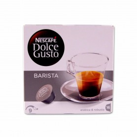 Nescafé Dolce Gusto Barista Arábica & Robusta Intensidad 9 - (16 Cápsulas) - 120g