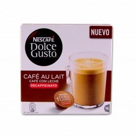 Nescafé Dolce Gusto Café con Leche Descafeinado - (16 Cápsulas) - 160g