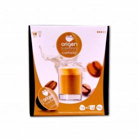 Origen & Sensations Café Cortado Intensidad 3 - (16 Cápsulas Dolce Gusto Compatible) - 96g