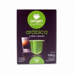 Origen & Sensations Café Arábica - (20 Cápsulas Nespresso Compatible) - 100g