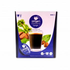 Origen & Sensations Café Lungo Intensidad 3 - (16 Cápsulas Dolce Gusto Compatible) - 112g