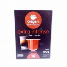 Origen & Sensations Café Extra Intense - (20 Cápsulas Nespresso Compatible) - 100g