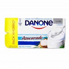 Danone Yogur Natural Azucarado - (8 Unidades) - 1kg