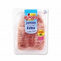 El Pozo Jamón Cocido Extra Lonchas Finas - 180g