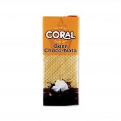 Coral Barquillos Relleno Sabor a Chocolate y Nata - 400g