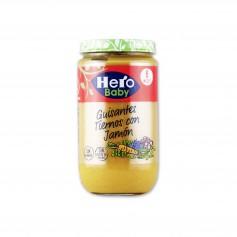 Hero Baby Potito Guisantes Tiernos con Jamón - 235g