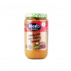 Hero Baby Potito Verduritas con Pollo y Ternera - 235g