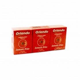 Orlando Tomate Frito - (3 Unidades) - 636g