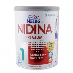 Nestlé Leche para Lactantes Nidina Premium 1 - 800g