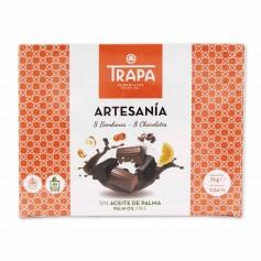 Trapa Bombones de Chocolate Artesanía - (8 Unidades) - 72g