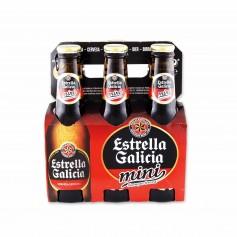 Estrella Galicia Cerveza Mini Especial - (6 Unidades) -120cl