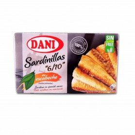 Dani Sardinillas en Escabeche - 90g