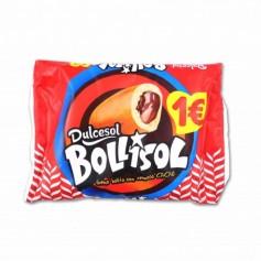 Dulcesol Bollisol Bollito con Cremoso Cacao - (3 Unidades) - 180g