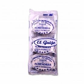 El Guijo Tortas de Almendras - (6 Unidades) - 240g