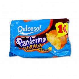 Dulcesol Pandorino Sabor Natilla - (4 Unidades) - 240g