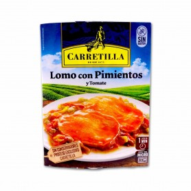 Carretilla Lomo con Pimientos y Tomate - 250g
