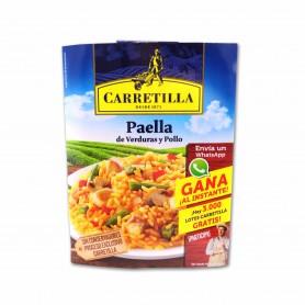 Carretilla Paella de Verduras y Pollo - 250g