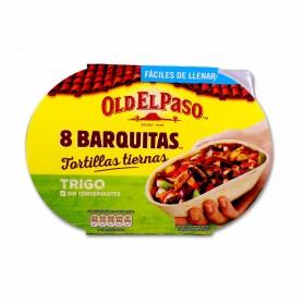 Old El Paso BarquitasTiernas de Trigo - (8 Unidades) - 193g