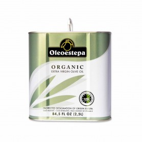 Oleoestepa Aceite de Oliva Virgen Extra Organic - 2,5L