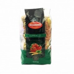 Romero Pasta Espiralescon Vegetales- 500g