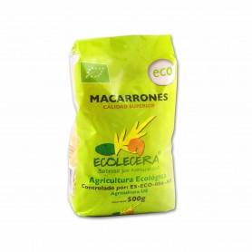 Ecolecera Pasta Macarrones - 500g