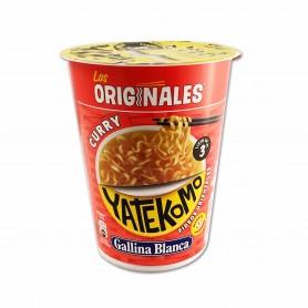 Gallina Blanca Yatekomo Curry Fideos Orientales - 61g